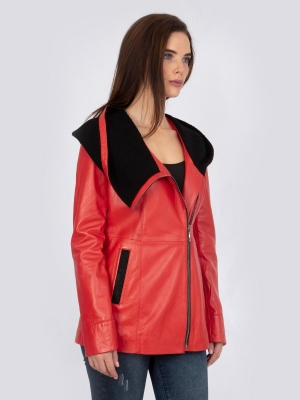 IPAW2021 Red Leather Jacket